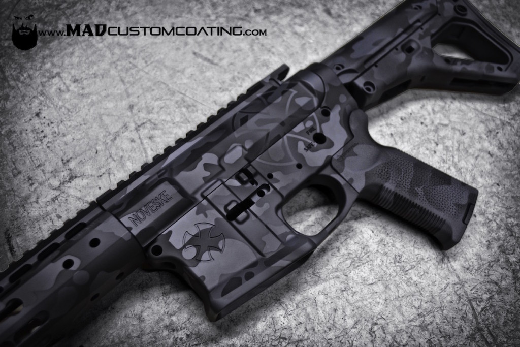 AR 15 - Mad Custom CoatingMad Custom Coating