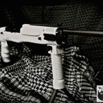 Ruger Mini 30 in Cerakote Bright White and MAD Black