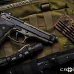 Beretta 92 in Cerakote Magpul OD Green & MAD Black