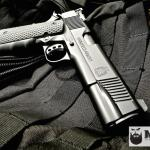 Springfield 1911 in all MAD Black