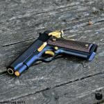 Colt 1911 in MAD Black & Gold