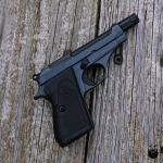 .22lr Beretta in Cerakote Sniper Grey & MAD Black