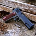 Colt 1911 in Cerakote Magpul OD Green & MAD Black