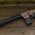 Black Hole Weaponry AR308 in Cerakote Burnt Bronze w/ Graphite Black color fill