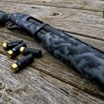 870 in 3 color MAD Edge Camo w/ Cerakote Gold trigger