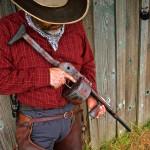 Shotgun in MAD Dragon w/ MAD Red, MAD Black & Tungsten Cerakote