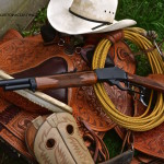 .450 Marlin Lever Action refinished in MAD Black
