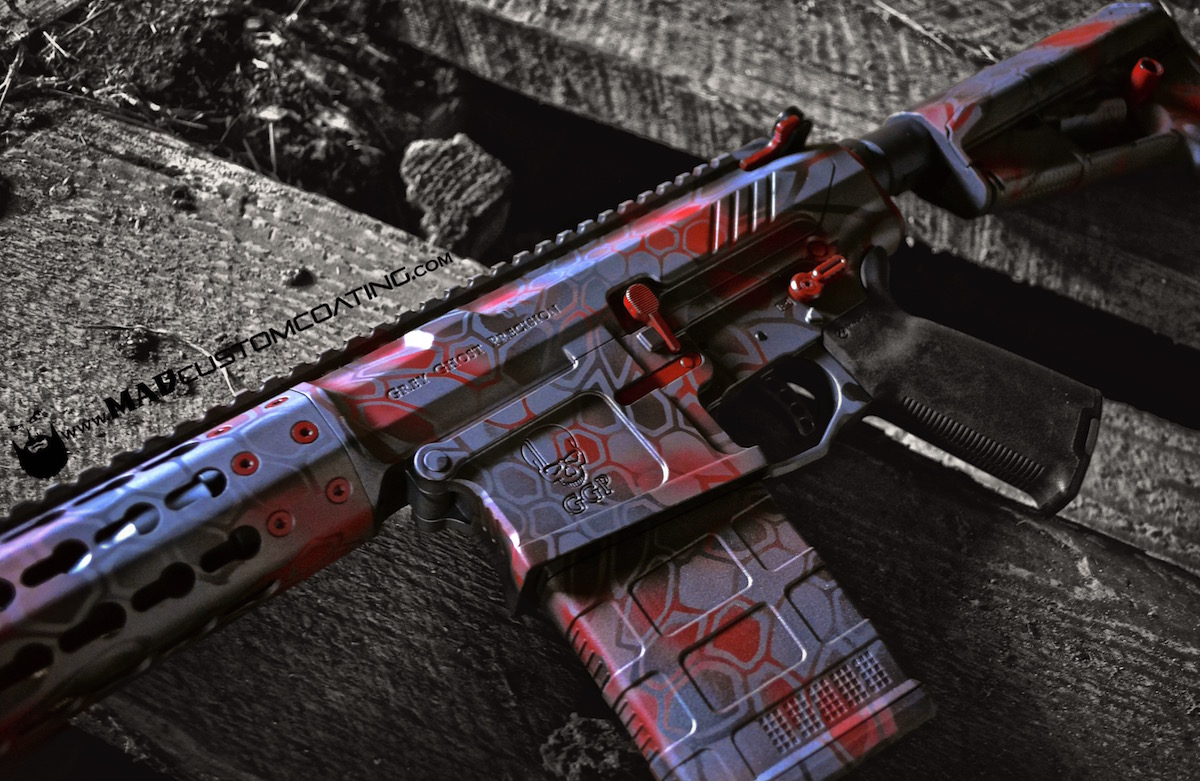 MAD Dragon Camo on a Grey Ghost Precision Spectre Heavy