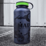 cerakote, cerakote colors, MADLand camo cerakote water bottle