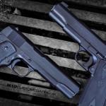 MAD Black on Colt 1911 pistols