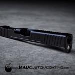 MAD Black on a DP Customs Glock slide