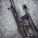 Midnight Bronze & MAD Black on a SCAR 16