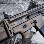 FN SCAR in Midnight Bronze & MAD Black