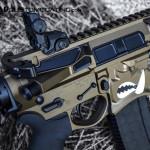 Dark Bronze and MAD Black on a Spike's Warthog AR15