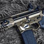 MAD Black & Dark Bronze on a Warthog AR15 Pistol
