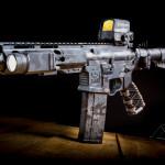 MADLand Urban Camo on a 300 Blackout pistol