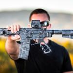 MADLand Urban Camo on a custom AR pistol