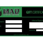 MAD Gift Cert