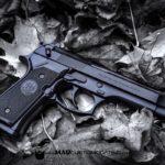MAD Black on a Beretta 92