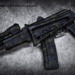 Arsenal AK47 in MADLand Camo Black using Sniper Grey, Foliage & MAD Black