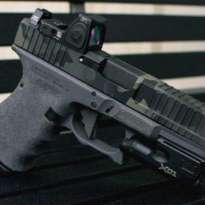 MADLand Black grey glock frame
