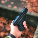 Glock 43 Thin Blue Line Flag