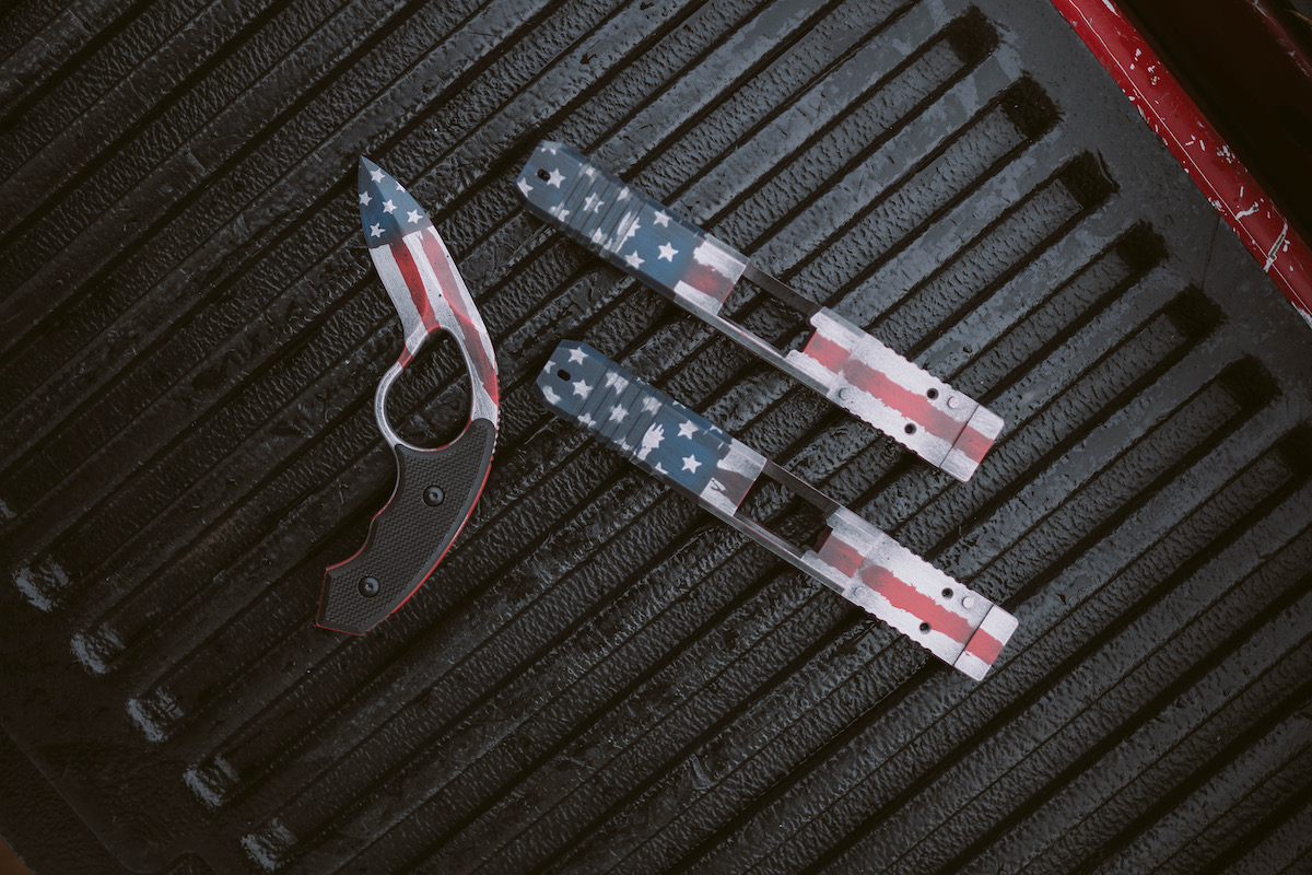 Merica Colonel Blades & Suarez Glock Slides - Mad Custom CoatingMad