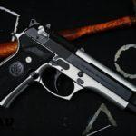 Beretta M9 in MAD Black & Satin Mag